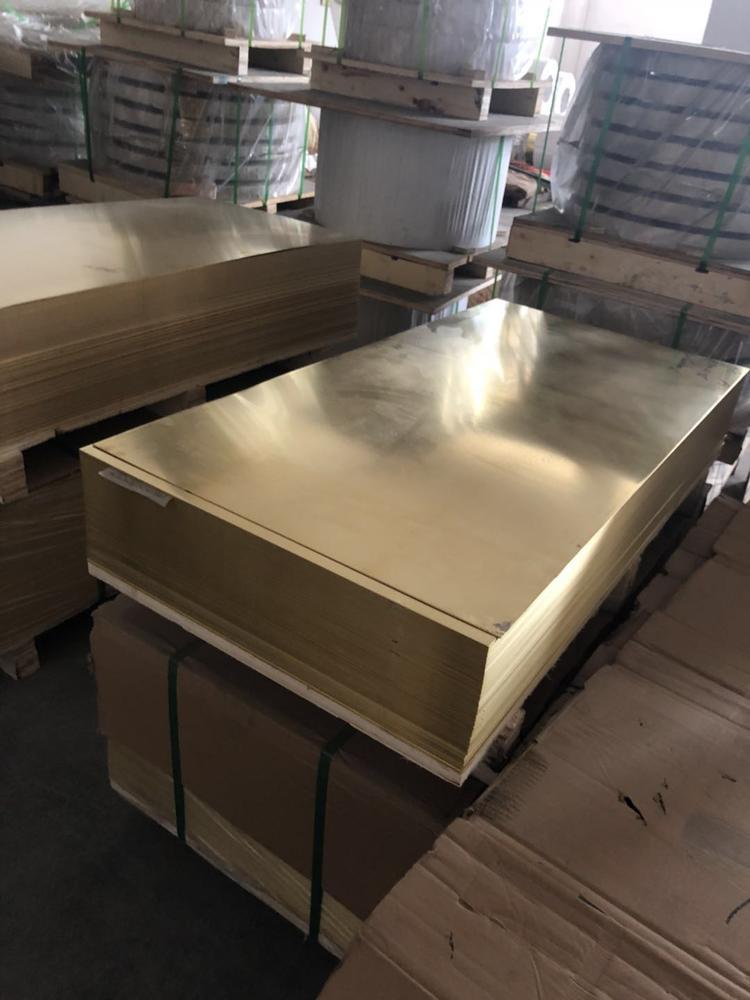 国民铜业 供应(兴业产)各规格H62/H65黄铜板