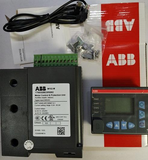 出售ABB马达M102-P with MD21 110VAC
