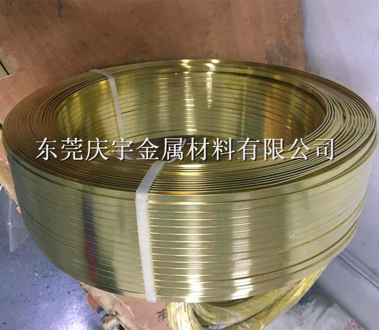 供应H62黄铜扁线,H65黄铜扁线,国标黄铜线