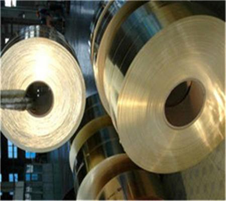国标H62黄铜带,厚度0.01-2mm黄铜带现货