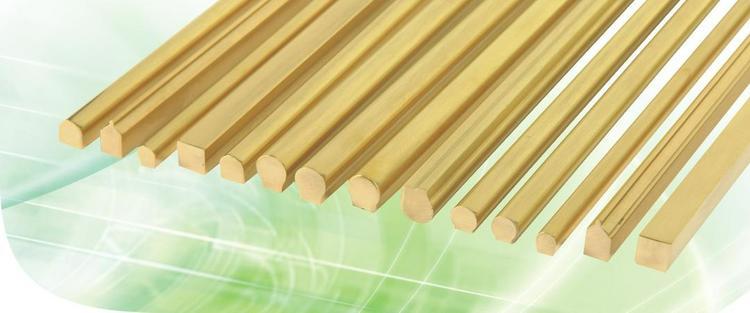 C3771:高档抛光铜棒,适用于各类门锁配件