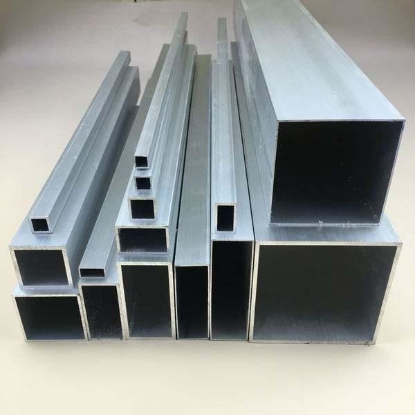 铝方管,手机外壳铝方管,生产R角铝方管厂家