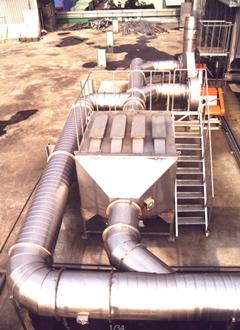 VOC活性炭吸附塔横卧式