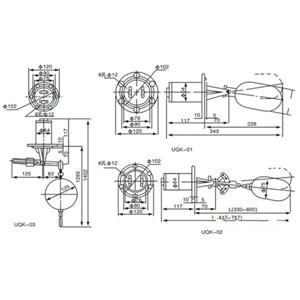 KS-BL320浮球式液位开关