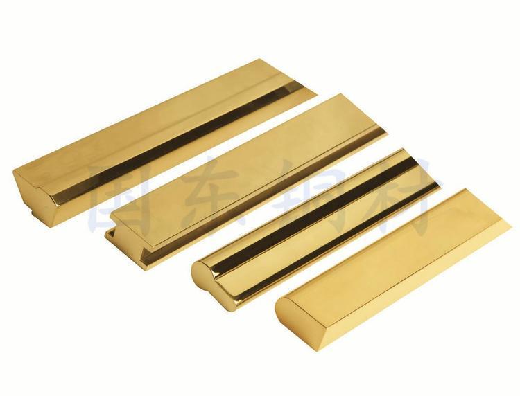 国东厂直销国标黄铜建材用铜φ2.0-φ45.0可定制异型铜材