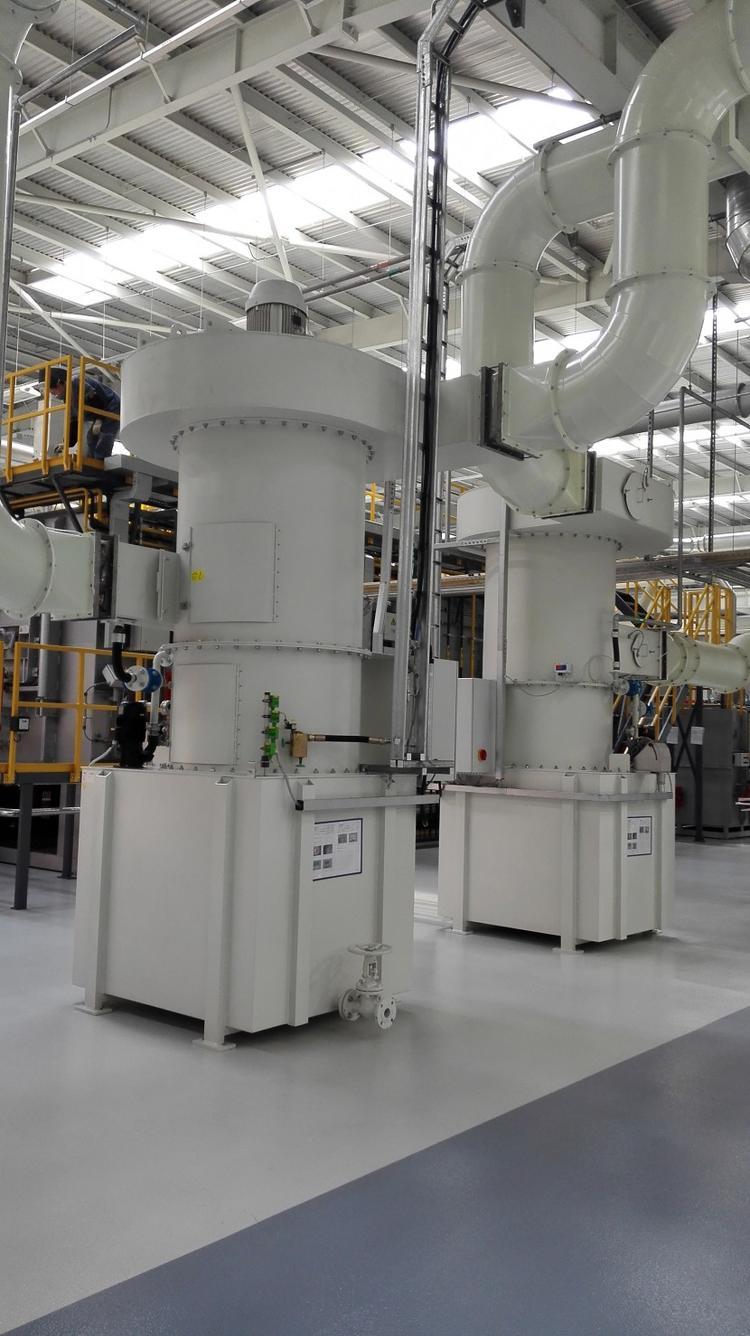 昆山科朗兹防爆湿式除尘器 冶金铸造工业粉尘处理设备