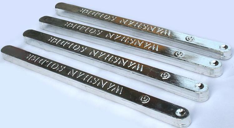 供应无铅环保锡条 Sn99.3Cu0.7焊锡条批发 各种规格齐全