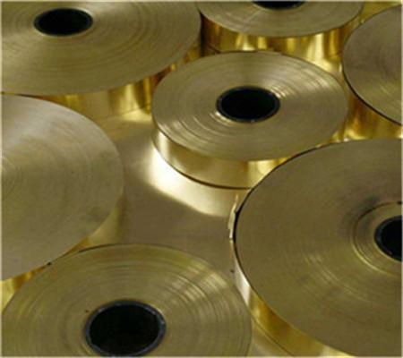 优质铜门带,H63导电黄铜带生产企业