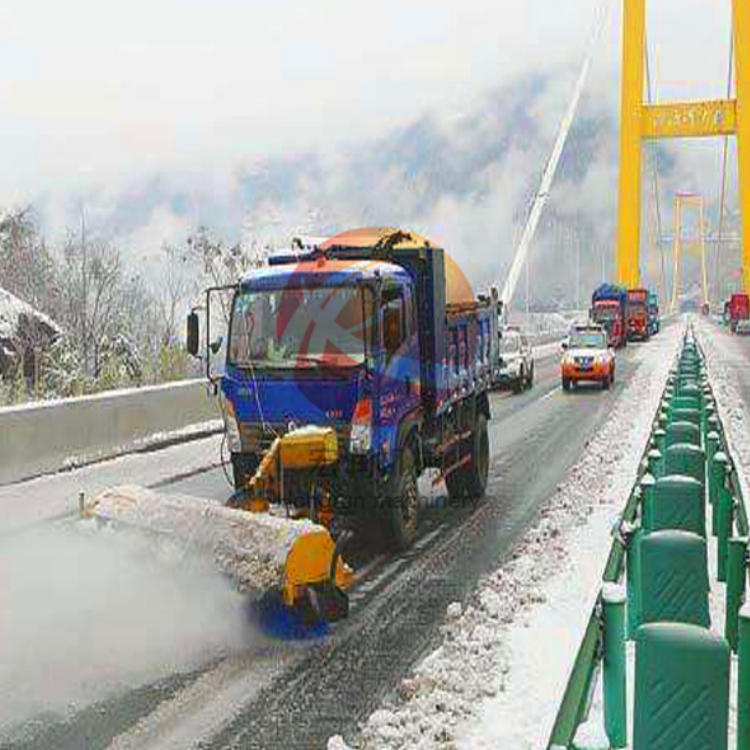 手推式小型除雪机 电启动小型手扶式道路扫雪机