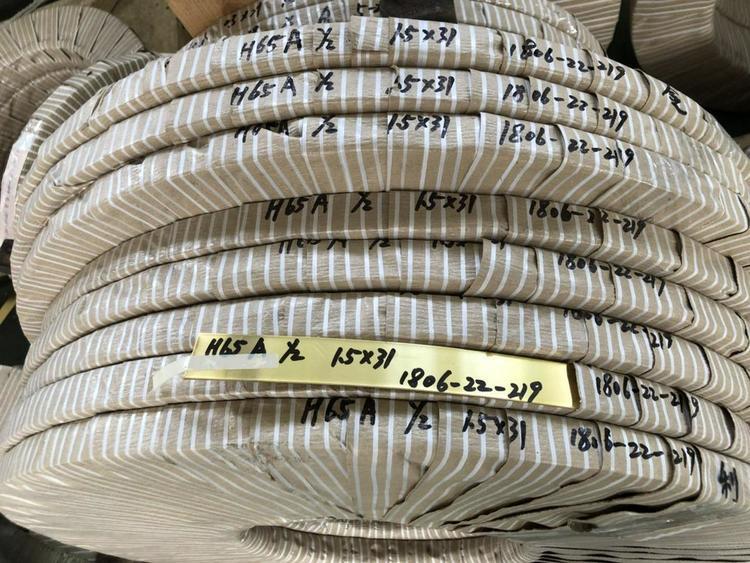 国民铜业 供应(兴业产)各规格黄铜带 宽度可分切≥1.5mm
