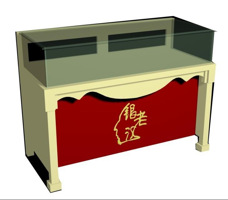 异形展览展示柜精品展示柜制作济南智能展柜烤漆木制作展示台公司